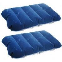 Travel Inflatable PVC Air Pillow Bantal Angin Tiup / Udara UltraLight