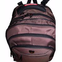 NEW Polo Power Tas Ransel Backpack Expanding PP082016 Coklat LZD