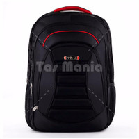 NEW Polo Meteorite Emboss Laptop Backpack +Raincover - Black FREE Polo