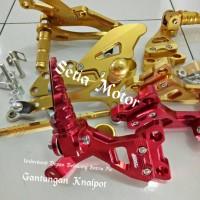Footstep Fu/Underbond Satria Fu Depan Belakang PNP Step Set Paket