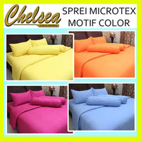 SPREI BAHAN MICROTEX MOTIF FULL COLOR POLOS