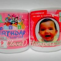 Souvenir Mug Standart Putih Packing Milky Box (+Stiker)