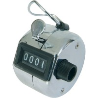 Mechanical Manual Round Hand Counter Human Traffic / Alat Penghitung