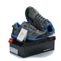 Sepatu Gunung KETA 427 GREY BLUE Trekking/Hiking/Adventure/Outdoor