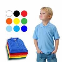 Kid's Polo Shirt (Kaos Polos Berkerah Anak) Polo Polos