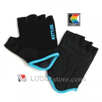 BLACK Multi Purpose Exercise Gloves Sarung Tangan Training Gym Kettler