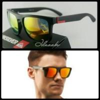 kacamata Quiksilver Ferris Black Fire Kacamata Polarised