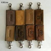 Gantungan Kunci kulit Asli GKA02,Dompet STNK,Dompet Motor Mobil