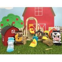Happy Baby Socks Kaos Kaki 12-18M Farm - 6 Pcs