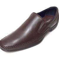 Sepatu Kulit Asli Pria | Edward - Coffee, Sepatu Kulit Moccasin