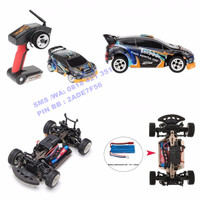 RC Car Drift WL A242 1:24 4WD 2.4G Rally RTR Mobil WLToys Short Course
