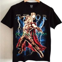 Kaos tshirt t-shirt Thor Avengers superhero import bangkok Thailand