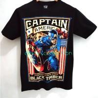 Kaos tshirt t-shirt Captain America superhero import bangkok Thailand