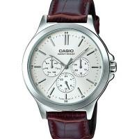Jam tangan cowok cool casual casio MTP-V300L-7AUDF ori 3dials chrono