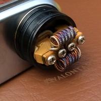 Azeroth Zipper Coil Nichrome Ni80 0.25 ohm, Koil jadi Vaping Vapor RDA