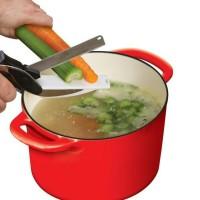 Rumah tangga   clever cutter / gunting dapur pemotong sayur serbaguna