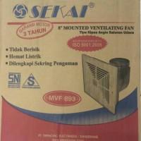 Exhaust / Ventilating Fan - Sekai 8 Mvf 893 Ceiling Plafon Corong