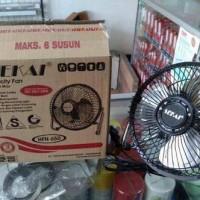 Termurah! Desk Fan / Kipas Angin Meja Sekai Besi Mini HFN 650