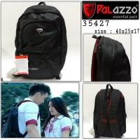 tas ransel palazzo 35427 backpack sekolah tas boy anak jalanan black