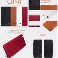 Flipcase flipcover nillkin Qin leather case Sony Xperia X