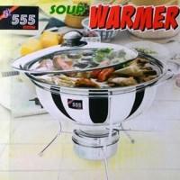 Panci Stainless Prasmanan 555 Warmer Stove 28 Cm