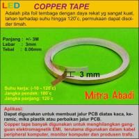 Copper Tape/Tembaga Tape 3 meter x 3 mm