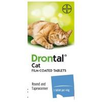 Obat Cacing Kucing DRONTAL CAT / Dewormer
