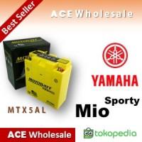 Aki kering Gel Mio Sporty Yamaha MOTOBATT MTX5AL accu motor / GS Yuasa