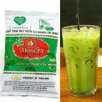 Teh Hijau Thai Milk Green Tea Halal ( 200gram )