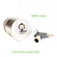 Kunci Disk Disc Lock Bulat CnC Gembok Cakram