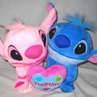 Boneka Couple Stich Pasangan Together Kado Valentine K520950S