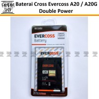 Baterai Cross Evercoss A20 Original Double Power | Batre, Evercross HP