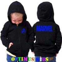 Jaket Sweater Anak The Avengers Marvel 4-12 Tahun
