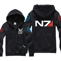 kaos/hoodie/jumper/game/gamer/mass effect/n7