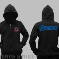 Jaket Sweater Captain America The Avengers