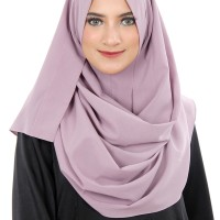 Hijab Instant Ariana Instant Glasses and Earphone Friendly Hijab