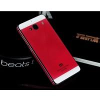 Aluminium Tempered Glass Hard Case for Xiaomi Redmi 2 / wbuy-6052-206