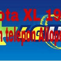 Kuota XL 19GB+ 24jam telepon Alloperator (4GB 3G + 15GB 4G)