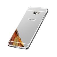 Bumper Mirror Sliding Case Samsung Galaxy A3 2016/A310 - Silver