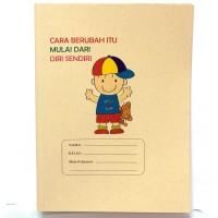 Master Sampul Samson Kwarto Lipat Motif / Buku / Kertas Kopi / Quarto