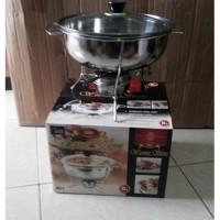 Prasmanan warmer stove 555 uk 28cm / Penghangat Makanan soup