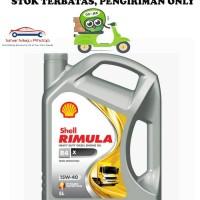 Shell Rimula R4X 15W-40 Oli Mobil Mesin Diesel 5 Liter HARGA GROSIR