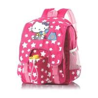 Tas Ransel Anak Perempuan Backpack Sekolah TK SD Cewe Hello Kitty Pink