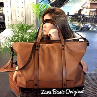 Tas Tote Zara / Zara Leather Bag / Tas Original