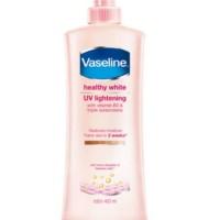 vaseline healty white body lotion pemutih tabir surya 400 ml