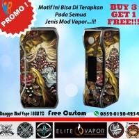 [Promo] Garskin Vapor Dagger Mod Vape 75W TC -Leak Bali- Free Custom