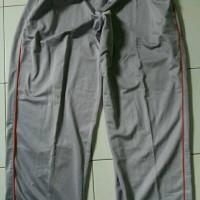 Celana Training jumbo 3xl panjang - Abu-abu