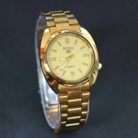 jam tangan seiko pria or wanita / jtr 596 gold