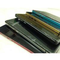 unik Aluminium Tempered Glass Hard Case for Xiaomi Red lucu unik
