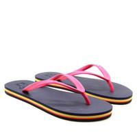 Sandal Panama / Sendal Jepit Wanita Biru Tua / Flipflop / Sandal Panta